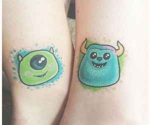 monsters inc, movie, and tatto image