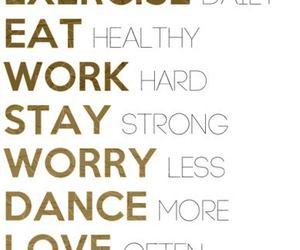 be, dance, and eat image