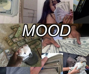 money, mood, and wallpaper image