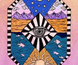 eye and illustration image