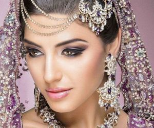 bride, fashion, and indian image