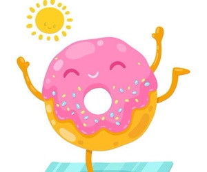 donuts, wallpapers, and cute image