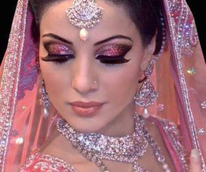 indian, wedding, and bride image