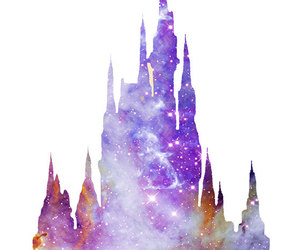 castle, galaxy, and nebula image
