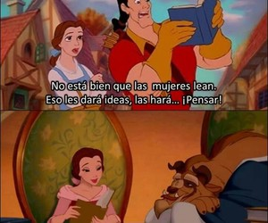 disney, frases, and la bella y la bestia image