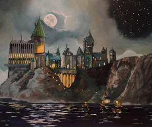 hogwarts and hp image