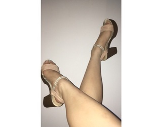 heels, legs, and blurr image