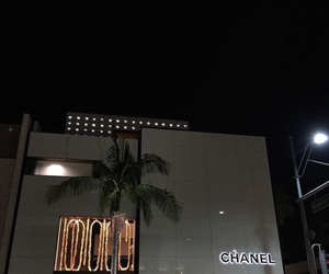 chanel, night, and city image