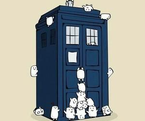 tardis and doctor who image
