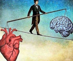 heart, brain, and life image