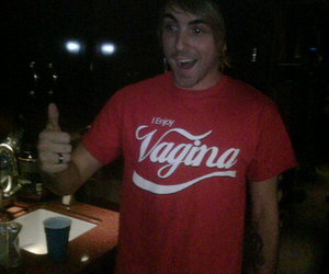alex gaskarth, vagina, and all time low image