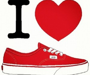 vans and love image