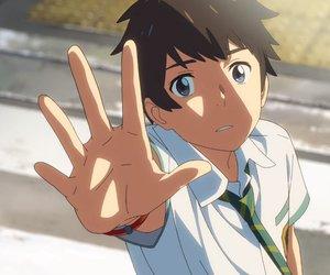 anime, your name, and makoto shinkai image