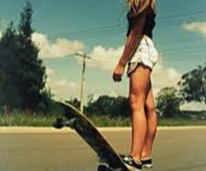 skateboard and my style image