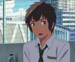 anime, couple, and makoto shinkai image