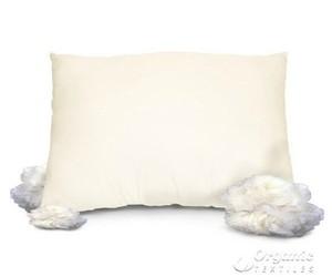 cotton bedding sets, organic bedding, and talalay latex pillow image