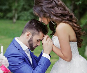love, couple, and marriage image