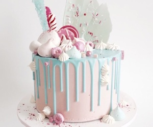 birthday, pastel, and sweet image