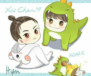 exo, xiuchen, and Chen image