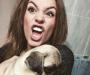 dog, me, and pug image