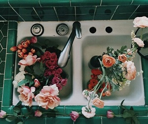 roses, tumblr, and vintage image