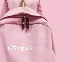bag, tumblr, and cry baby image