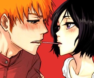 bleach, ichiruki, and anime image