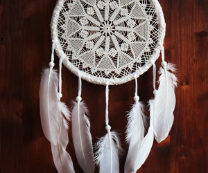 boho, bridal, and crocheted image