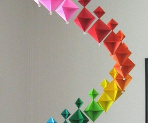 colors, geometric shapes, and papers image