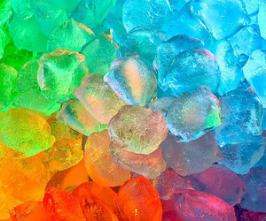 ice, colors, and colorful image