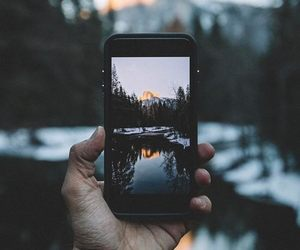 photography, iphone, and nature image