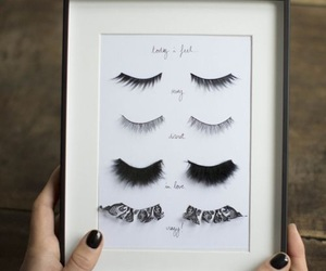 diy, eyelashes, and makeup image