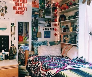 college, decor, and home image
