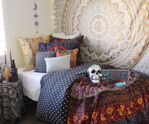 decor, bedroom, and inspiration image