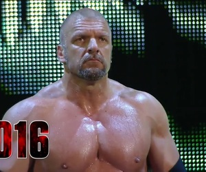 muscle, hhh, and wwe image