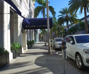 los angeles, shopping, and rodeo drive image