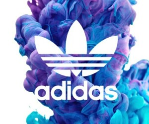 adidas, blue, and lila image