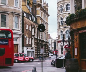 london, street, and travel image