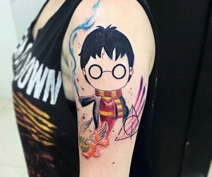 harry potter, inspiration, and tattoo image