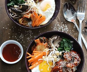 food and korean image