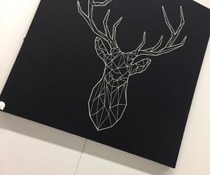 art, deer, and ikea image
