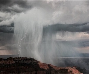 nature, storm, and theme image