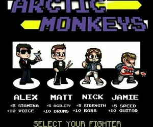 arctic monkeys, game, and jamie image