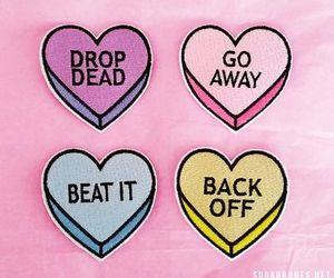back off, drop dead, and grunge image