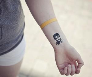 elvis and tattoo image