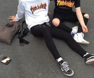 thrasher, tumblr, and style image