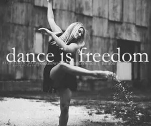 dance and freedom image