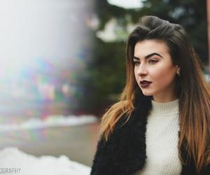 breathtaking, brunette, and city image