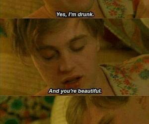 love, drunk, and beautiful image
