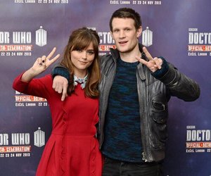 doctor who, matt smith, and jenna louise coleman image